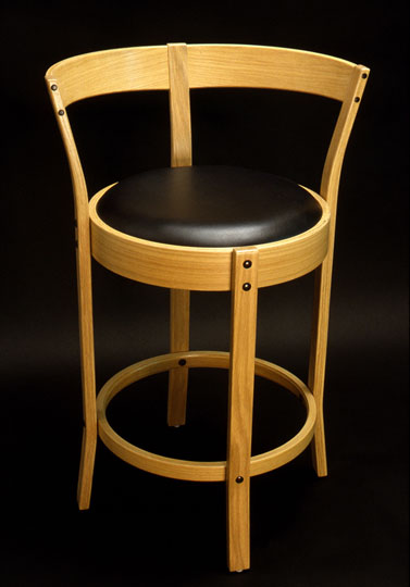Quality Handcrafted Bentwood Bar Stools Curtis Erpelding